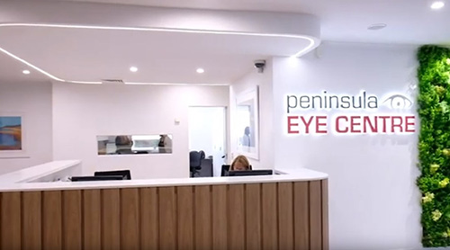 Peninsula Eye Centre upgrade